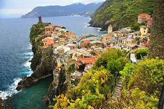 Vernazza, Cinque Terra... one of the 5 charming fishing villages connected by the Walk of Love