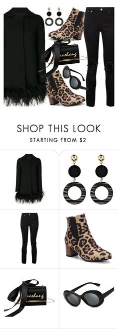 """Go Bold: Statement Coats"" by fattie-zara ❤ liked on Polyvore featuring Boutique Moschino and AMIRI"