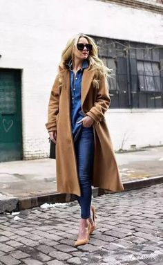 Atlantic-Pacific is a fashion and personal style site by Blair Eadie. Look Fashion, Fashion News, Womens Fashion, Street Fashion, Fashion Trends, Blair Eadie, Blue Denim Shirt, Atlantic Pacific, Business Outfit