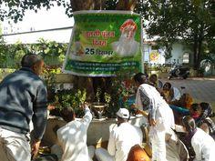Bhopal Ashram me Tulsi Poojan diwas manaya gaya.