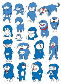 Doraemon in his early years. Doraemon, Character Illustration, Art And Illustration, Level Design, Grafik Design, Illustrations And Posters, Cute Art, Illustrators, Graphic Art