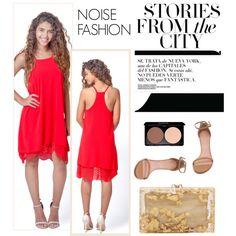 Noise Fashion 6 by merima-kopic on Polyvore featuring Stuart Weitzman, Charlotte Olympia, dresses, Elegance, luxury and noisefashion