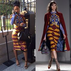 Rihanna in African Inspired Dress | Life, Style & Culture