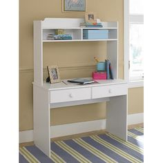 New Visions by Lane My Space, My Place Writing Desk with Hutch