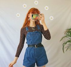 Retro Outfits, Cute Casual Outfits, Vintage Outfits, 90s Fashion, Korean Fashion, Fashion Outfits, Thrift Fashion, Aesthetic Fashion, Aesthetic Clothes