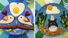 I have 4 children and I love to make them sunny side up eggs. Sometimes I wake up very early to make breakfast art for them. Listed by @whiteostrich387.