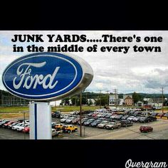 Haha true! Although ford is a little better then Chevy…I'm a dodge person all the way!