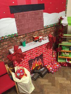 Inside santas workshop Preschool Christmas, Christmas Crafts For Kids, Christmas Activities, Xmas Crafts, Kids Christmas, Winter Activities, Christmas 2019, Office Christmas Decorations, Christmas Party Themes