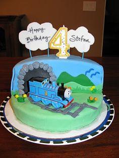 Thomas the train cake 2