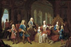Jean Ranc - La familia de Felipe V 1723