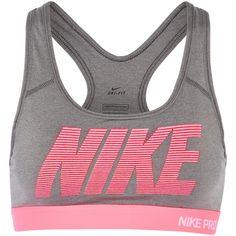 4465936a4e Nike Pro Classic printed stretch-jersey sports bra ( 45) ❤ liked on Polyvore