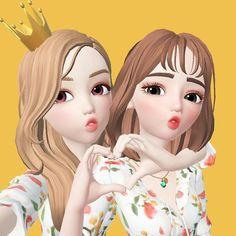 Cute Couple Drawings, Cute Couple Cartoon, Cute Cartoon Pictures, Cute Love Cartoons, Bff Pictures, Cartoon Pics, Pig Wallpaper, Cute Emoji Wallpaper, Cartoon Wallpaper