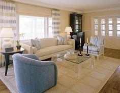Robert Wrubel Design - Sophisticated Interior Design - Boston, MA   Boston Design Guide / Drapery by Finelines