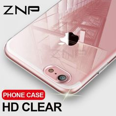 ZNP Ultra Thin Soft Transparent TPU Case For iPhone 8 7 Plus Clear Silicone Full Cover For iPhone 7 Plus 8 Phone Case Capa Coque Design: Business,TransparentSize: For iPhone CaseFunction: Anti-knock,Dirt-resistantCompatible iPhone Model: iPhone 8 6s Plus Case, Iphone 6 Plus Case, Iphone 8 Cases, Phone Case, Iphone 5c, 6 Case, Iphone Price, Clear Silicone, Samsung