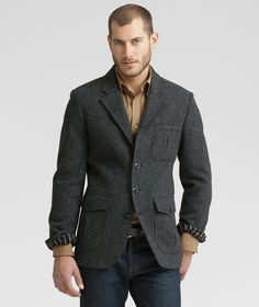 Wool Tweed Blazer    $199.00