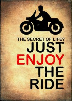 Motorcycle Greeting Card featuring the photograph The Secret Of Life by Mark Rogan || #Prints available on Fine Art America || http://fineartamerica.com/products/the-secret-of-life-mark-rogan-greeting-card.html