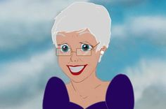 Here Are All The Disney Princesses In Their Old Age - Ariel
