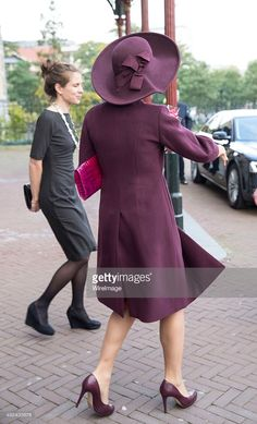 Queen Maxima of The Netherlands leaves after opening the 10th International Hands On! Conference on children's education in museums at the Rijksmuseum on October 13, 2015 in Amsterdam, Netherlands. The event is organised by the International Association of Children in Museums and aims to improve the accessibility for children worldwide to museums (Photo by Michel Porro/WireImage)