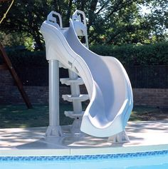 Pool Slides For Your Above Ground & Portable Pools- Above Ground Pools…