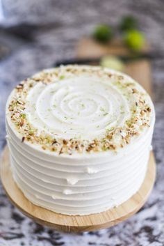 Cake by Courtney: Coconut Key Lime Pie Cake. Layers of toasted graham cracker, coconut lime cake, coconut buttercream, key lime curd and toasted coconut. First off, let me apologize for…