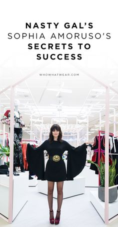 Nasty Gal's Sophia Amoruso shares her secrets to success // career tips