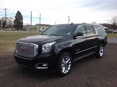 New 2017 GMC Yukon XL For Sale at Lochmandy Motors in Elkhart. See Photos, special internet pricing and more! Gmc Denali, Yukon Denali, Casper Wyoming, Chevy Girl, Pretty Cars, Lexus Cars, Men Stuff, Truck Accessories, Lily Collins