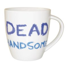 #JamieOliver  #Mug  #DeadHandsome http://www.palmerstores.com/product/jamie-oliver-cheeky-mug-dead-handsome/816/