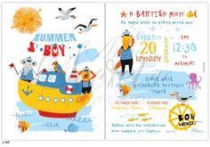 Προσκλητήριο βάπτισης Lavly για αγόρια με ζωάκια, annassecret Disney Characters, Fictional Characters, Map, Boys, Baby Boys, Location Map, Fantasy Characters, Guys, Sons