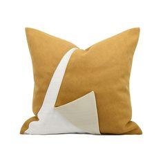北欧ins轻奢风样板房简约现代黄白色几何图形定制抱枕床头靠垫包-淘宝网 Pillow Fabric, Cushion Fabric, Kid Spaces, Soft Furnishings, Bedding, Photoshop, Cushions, Trends, Throw Pillows