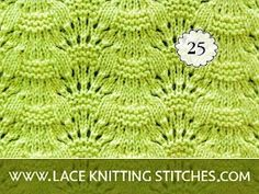 Lace Knitting Stitches, Lace Knitting Patterns, Knitting Designs, Knitting Projects, Baby Knitting, Stitch Patterns, Sweater Patterns, Knitted Baby Cardigan, Knitting For Beginners