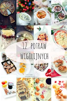 Christmas Time, Xmas, Polish Recipes, Diy Food, Food And Drink, Menu, Dishes, Pierogi, Cooking