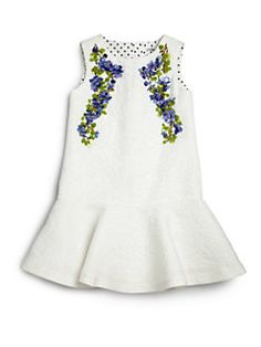 Dolce & Gabbana - Toddler's & Little Girl's Lavender Jacquard Dress