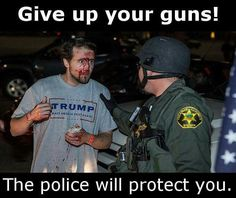 Ya right, I'll pass, YOU give up your guns, armed security, secret service first, you government leftists!