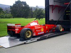 Ferrari F1 Schumacher car