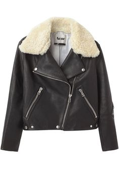 Acne's Leather Jacket | The Luxury Spot