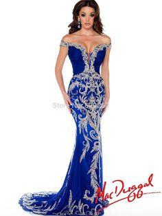 royal blue mermaid wedding dresses - Google Search