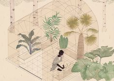 A selection of works by Bristol-based illustrator Harriet Lee-Merrion. More images below. Harriet Lee-Merrion's Website