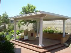 Covered Detached Patio Designs