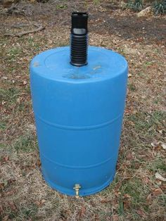 My weekend project... The best RAIN BARREL for less than $15, and where to find a barrel