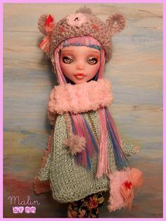 1 6 OOAK Fairy Posable Art Doll Custom Monster High Malin by Mm | eBay