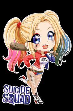 Harley Quinn Suicide Squad Chibi