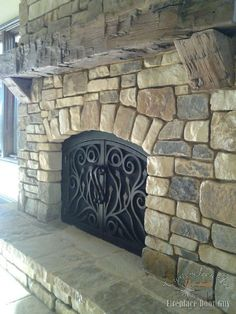 Custom Arched Fireplace Doors in California & Arizona