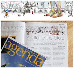 Agenda magazine illustration | Flickr - Photo Sharing!