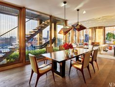 Dining Room Decor in New York City Photos | Architectural Digest