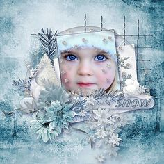 New Kit *Snow Flurries* by Louise LAudet  http://www.bazarascrap.fr/fr/louisel/566-snow-flurries.html Use with Permission Marika Burder's Photography https://www.facebook.com/Marika-Burders-Photography-Filling-the-void-211348915551578/?fref=photo