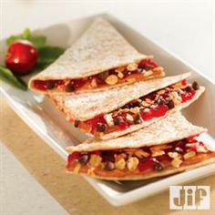 #Chocolate #Cherry Triangles from Jif®