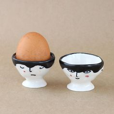 A pair of Egg Cups by EleonorBostrom on Etsy