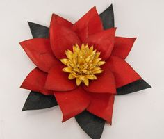 My Craft Spot: Flower Shoppe: Poinsettia tutorial