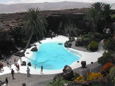 This is one of many amazing places created by the genius Cesar Manrique in Lanzarote