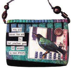 Handmade purses and bags by DJ Pettitt  CS Lewis quote